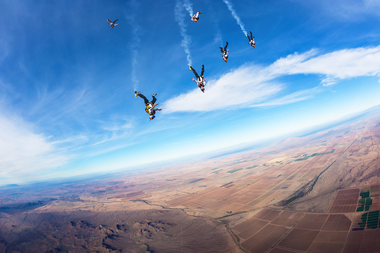 Red Bull Air Force - Action